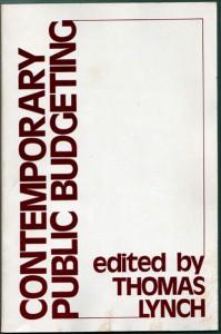 Contemporary Public Budgeting
