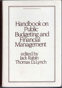 Handbook on Public Budgeting and Financial Management