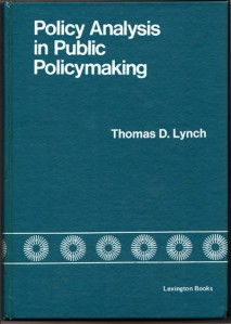 Policy Analisys in Public Policymaking