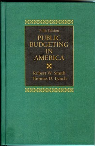 Public Budgeting in America fifth edition