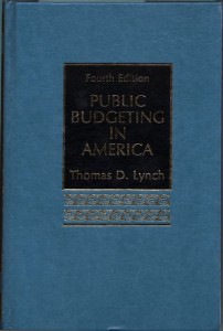 Public Budgeting in America fourth edition
