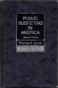Public Budgeting in America second edition